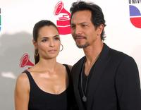 Talisa Soto and Benjamin Bratt at the 8th annual latin GRAMMY awards.