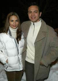 Talisa Soto and Benjamin Bratt at the premiere of