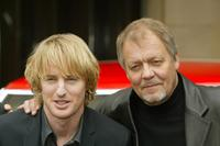 David Soul and Owen Wilson at the phocall during the UK premiere of