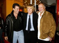 Paul Michael Glaser, Owen Wilson and David Soul at the Los Angeles premiere of