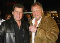 Paul Michael Glaser and David Soul at the premiere of