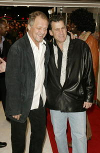 David Soul and Paul Michael Glaser at the UK premiere of