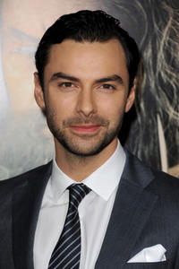Aidan Turner at the California premiere of