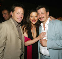 Producer Bill Gerber, Catherine Zeta-Jones and Andrew Fleming at the after party of
