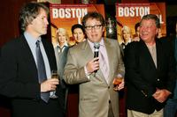 James Spader, David E. Kelley and William Shatner at the