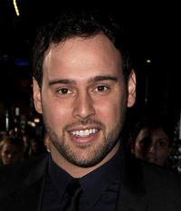 Producer Scooter Braun at the World premiere of