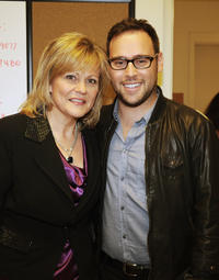 Vocal Coach/2011 Hall of Fame Inductee Jan Smith and Scooter Braun at the 33rd Annual Georgia Music Hall Of Fame Awards in Georgia.