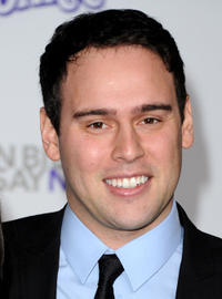 Scooter Braun at the California premiere of