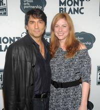 Vincent Spano and Diane Neal at the 9th after party of the Annual 24 Hour Plays on Broadway.