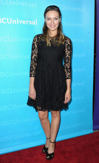 Michaela McManus at the NBC Universal 2012 Winter TCA Tour All-Star Party.