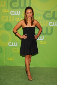 Michaela McManus at the CW Network's Upfront in New York.