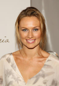 Michaela McManus at the Spring 2009 Fashion Show during the Mercedes-Benz Fashion Week.