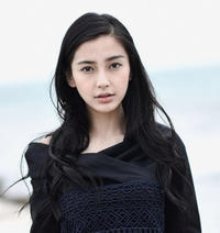 Angelababy at the 69th Venice Film Festival.