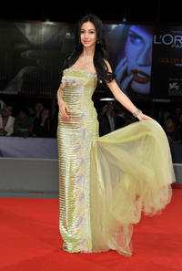 Angelababy at the premiere of