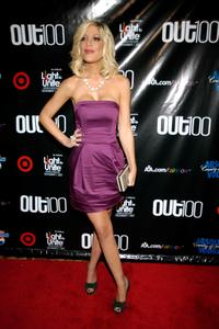 Tori Spelling at the 13th Annual OUT 100 Awards.