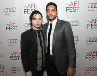 August Emerson and Abhi Sinha at the California premiere of