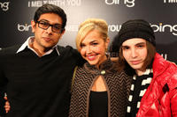 Abhi Sinha, Arielle Kebbel and August Emerson at the Bing Presents the