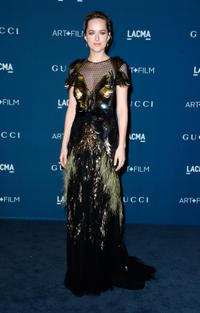 Dakota Johnson at the LACMA 2013 Art + Film Gala in California.