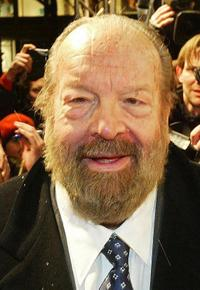 Bud Spencer at the premiere of