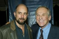 Richard Schiff and John Spencer at the 2004 NBC Winter Press Tour All-Star Party.