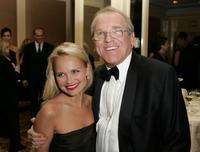 Kristin Chenoweth and John Spencer at the cocktail reception during the Cure Autism Now's 10th Anniversary Gala.