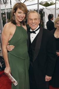 Allison Janney and John Spencer at the 10th Annual Screen Actors Guild Awards.