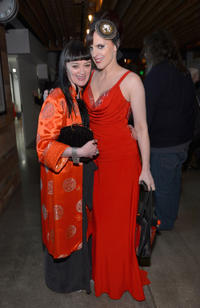 Bronagh Gallagher and musician Julie Feeney at the 8th Annual