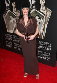Bronagh Gallagher at the Irish Film and Television Awards 2012 in Ireland.