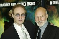 Brent Spiner and Patrick Stewart at the UK premiere of