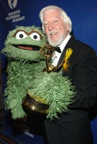 Carroll Spinney at the Creative Arts Daytime Emmy Awards.