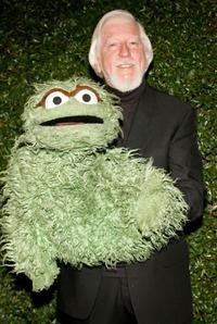 Carroll Spinney at the Annual Daytime Emmy nominee party.