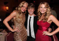 Amanda Michalka, Sean Cunningham and Carissa Capobianco at the California premiere of