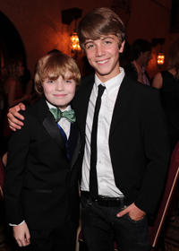 Jacob Rhodes and Sean Cunningham at the California premiere of