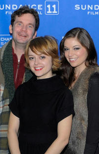 Sean Bridgers, Lauren Ashley Carter and Carlee Baker at the Utah premiere of