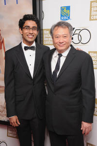 Suraj Sharma and director Ang Lee at the Opening Night Gala of