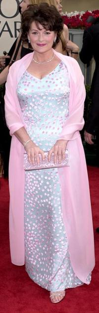 Brenda Blethyn at the 58th Annual Golden Globe Awards.