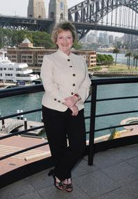 Brenda Blethyn at the media conference for the Film Finance Corporation of Australia.