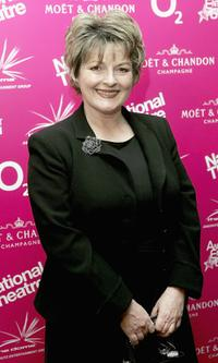 Brenda Blethyn at the National Theatre: Fast Forward reception.