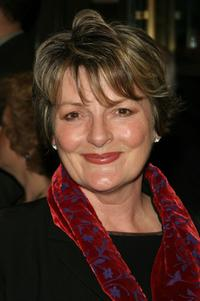 Brenda Blethyn at the opening night of the Broadway play