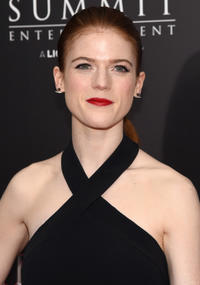 Rose Leslie at the New York premiere of
