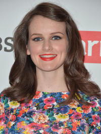 Sophie McShera at the photocall of 'Downton Abbey' Season 4.