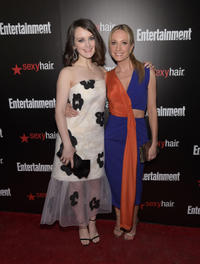 Sophie McShera and Joanne Froggatt at the Entertainment Weekly's celebration honoring the 2015 SAG Awards nominees.