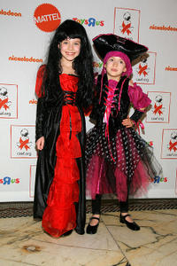 Alexa Gerasimovich and Ashley Gerasimovich at the 9th Annual Dream Halloween n New York.