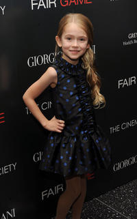 Ashley Gerasimovich at the New York premiere of
