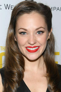 Laura Osnes at New York City screening of