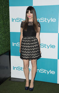 Crystal Reed at the 10th Annual InStyle Summer Soiree in California.