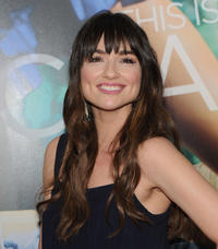 Crystal Reed at the world premiere of