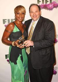 Mary J. Blige and Steve Haffer at the FiFi Awards.