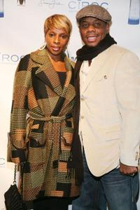 Mary J. Blige and Kendu Isaacs at the Sean