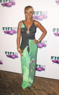 Mary J. Blige at the FiFi Awards.